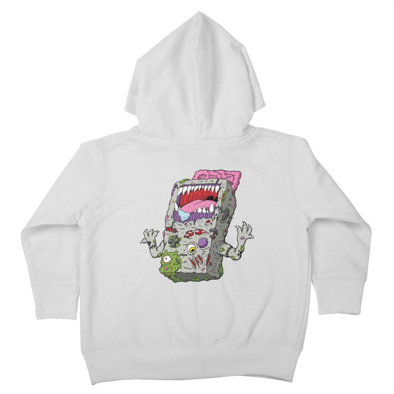 Controller Freaks - Game Boy Kids Toddler Zip-Up Hoody by Mystic Soda Shoppe