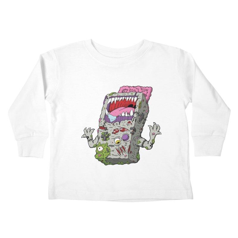 Controller Freaks - Game Boy Kids Toddler Longsleeve T-Shirt by Mystic Soda Shoppe