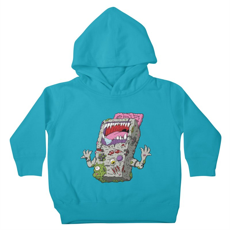 Controller Freaks - Game Boy Kids Toddler Pullover Hoody by Mystic Soda Shoppe