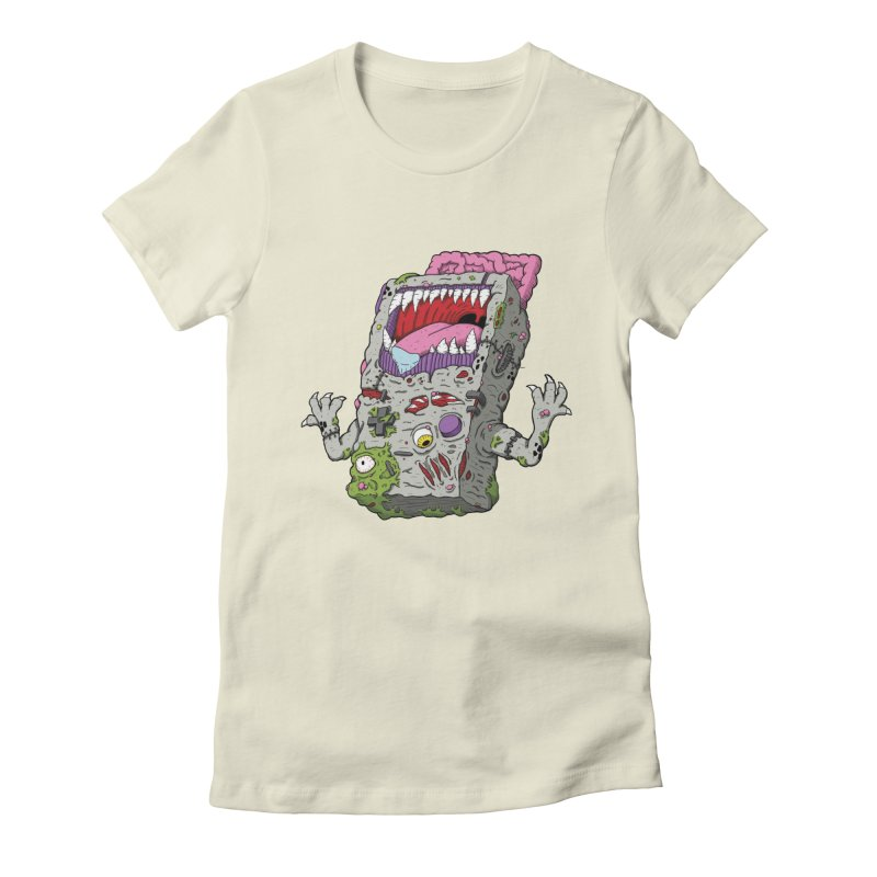 Controller Freaks - Game Boy Women's Fitted T-Shirt by Mystic Soda Shoppe