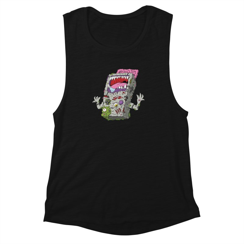 Controller Freaks - Game Boy Women's Muscle Tank by Mystic Soda Shoppe