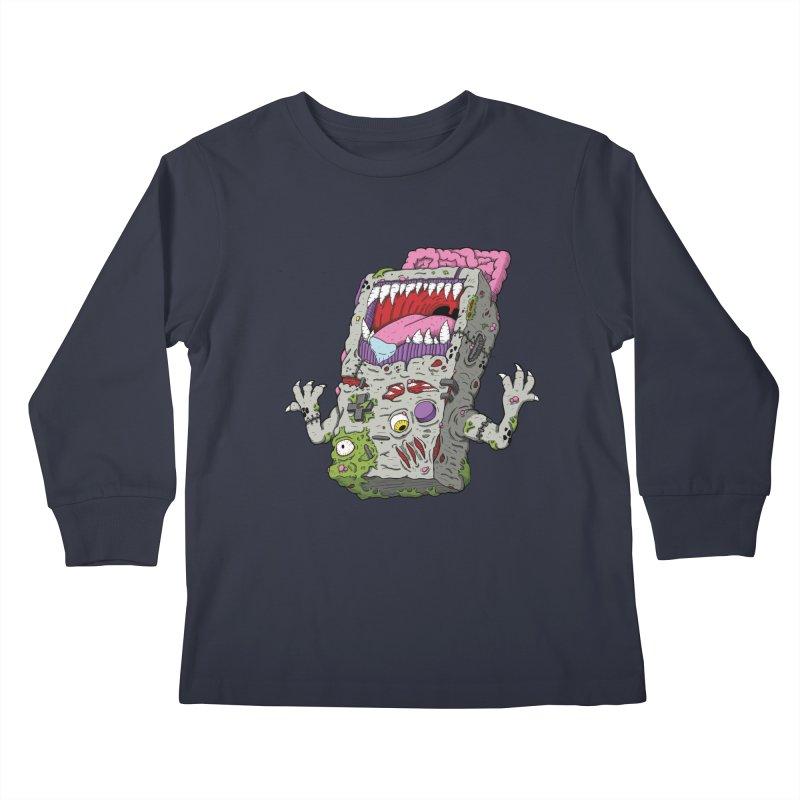 Controller Freaks - Game Boy Kids Longsleeve T-Shirt by Mystic Soda Shoppe