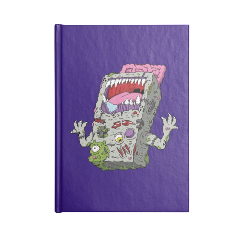 Controller Freaks - Game Boy Accessories Notebook by Mystic Soda Shoppe
