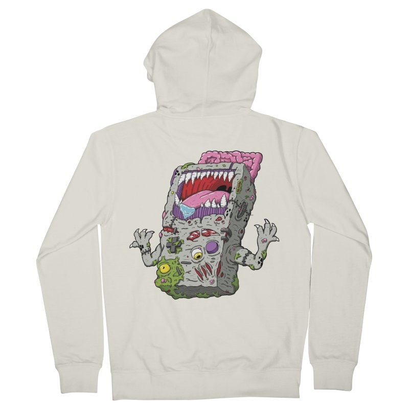Controller Freaks - The G4ME-B0Y Women's French Terry Zip-Up Hoody by Mystic Soda