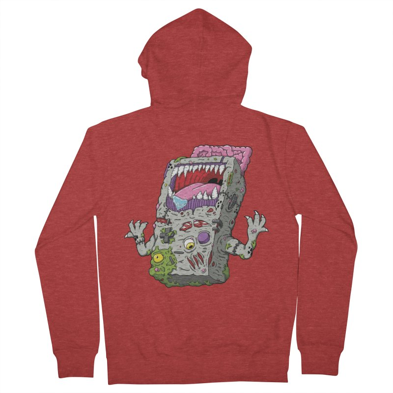Controller Freaks - The G4ME-B0Y Men's French Terry Zip-Up Hoody by Mystic Soda