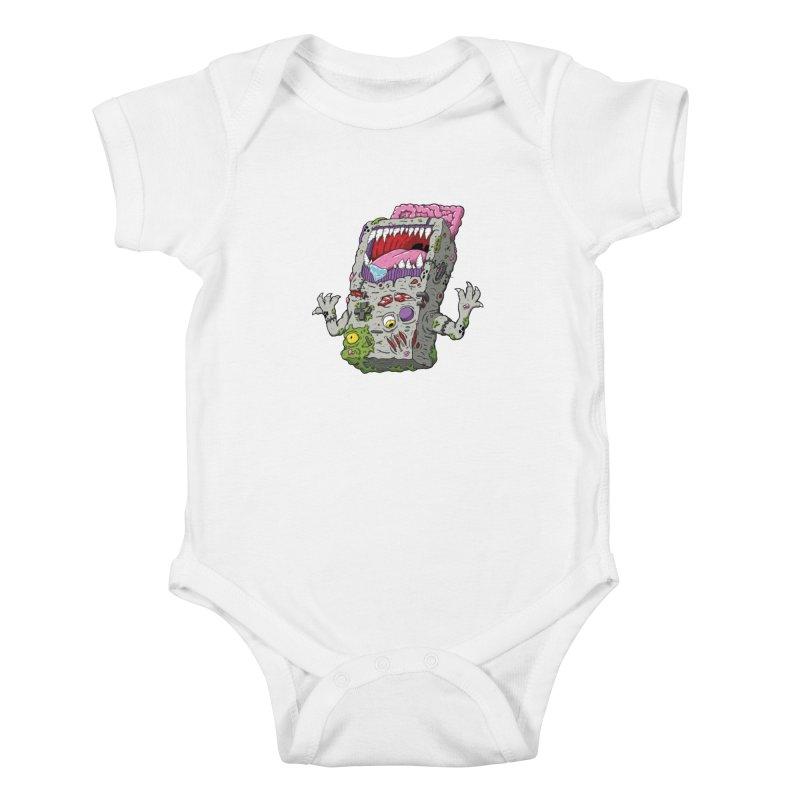 Controller Freaks - The G4ME-B0Y Kids Baby Bodysuit by Mystic Soda