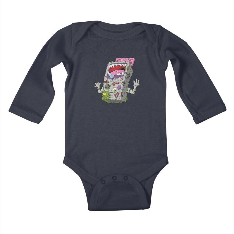 Controller Freaks - The G4ME-B0Y Kids Baby Longsleeve Bodysuit by Mystic Soda
