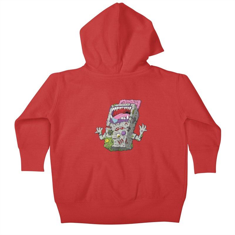 Controller Freaks - The G4ME-B0Y Kids Baby Zip-Up Hoody by Mystic Soda