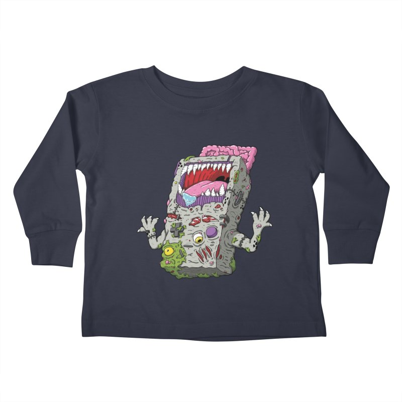 Controller Freaks - The G4ME-B0Y Kids Toddler Longsleeve T-Shirt by Mystic Soda