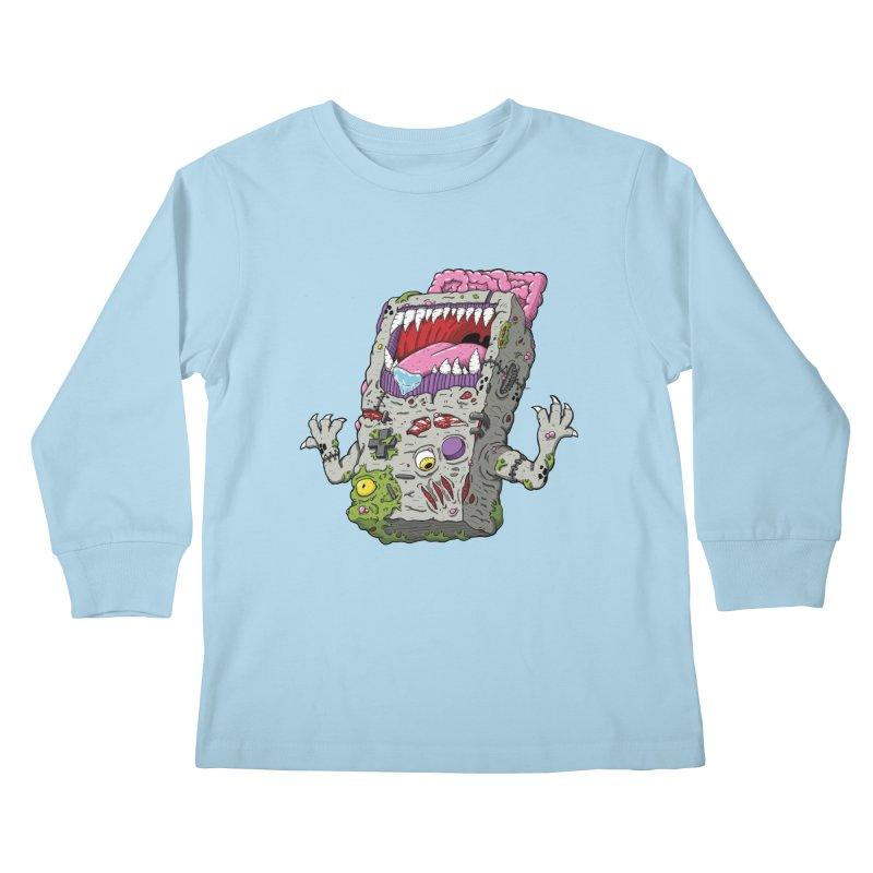 Controller Freaks - The G4ME-B0Y Kids Longsleeve T-Shirt by Mystic Soda