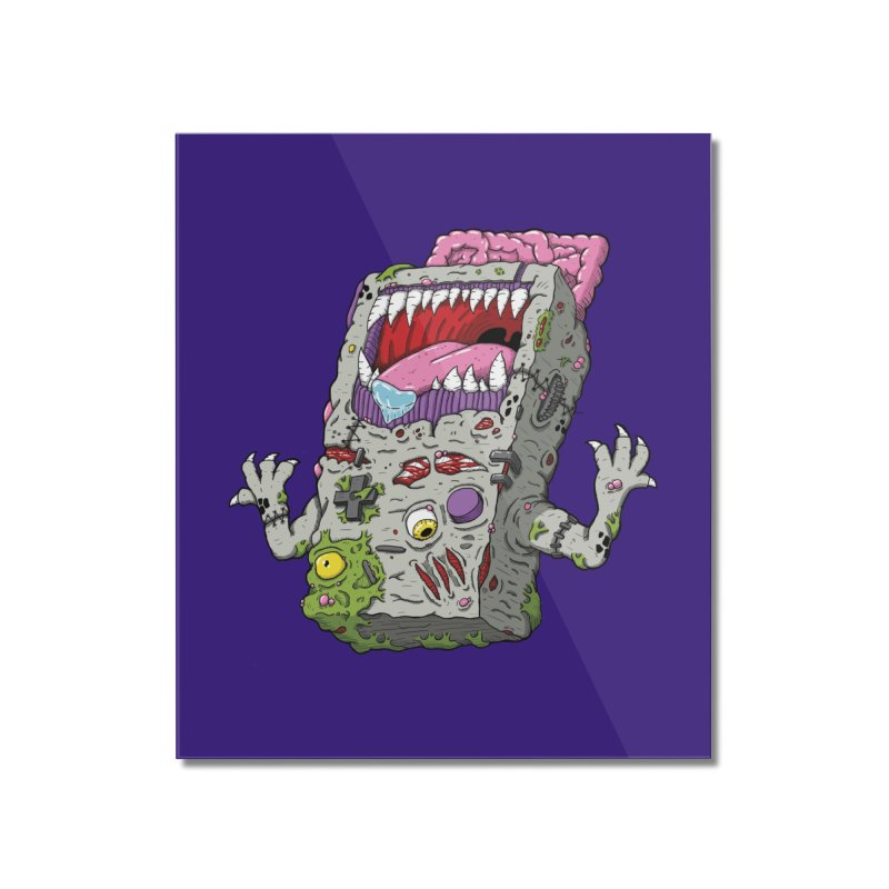 Controller Freaks - The G4ME-B0Y Home Mounted Acrylic Print by Mystic Soda