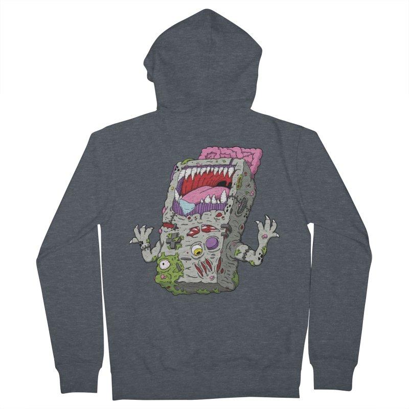 Controller Freak - Game Boy Men's Zip-Up Hoody by Mystic Soda Shoppe