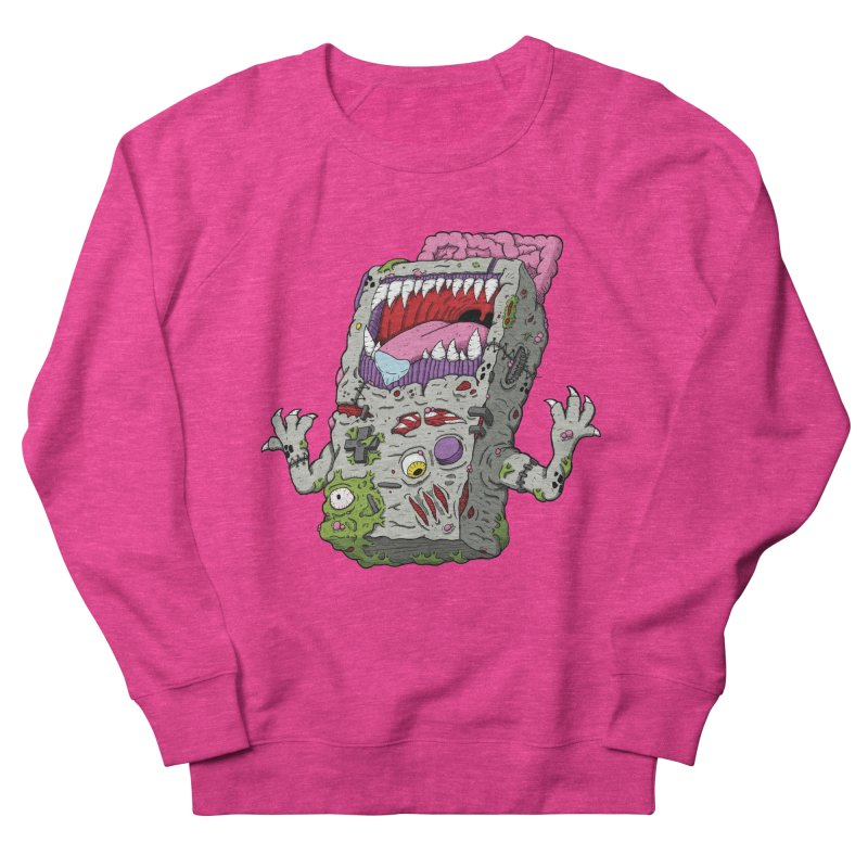 Controller Freak - Game Boy Women's Sweatshirt by Mystic Soda Shoppe