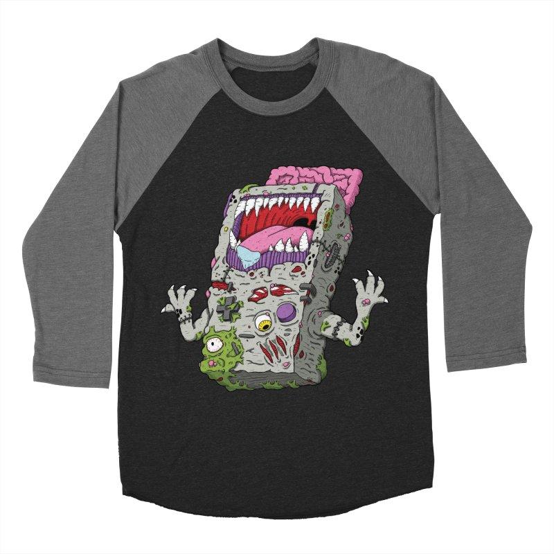 Controller Freak - Game Boy Women's Baseball Triblend T-Shirt by Mystic Soda Shoppe