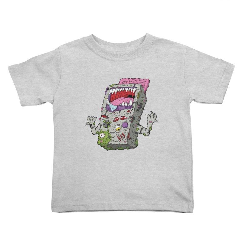 Controller Freak - Game Boy Kids Toddler T-Shirt by Mystic Soda Shoppe