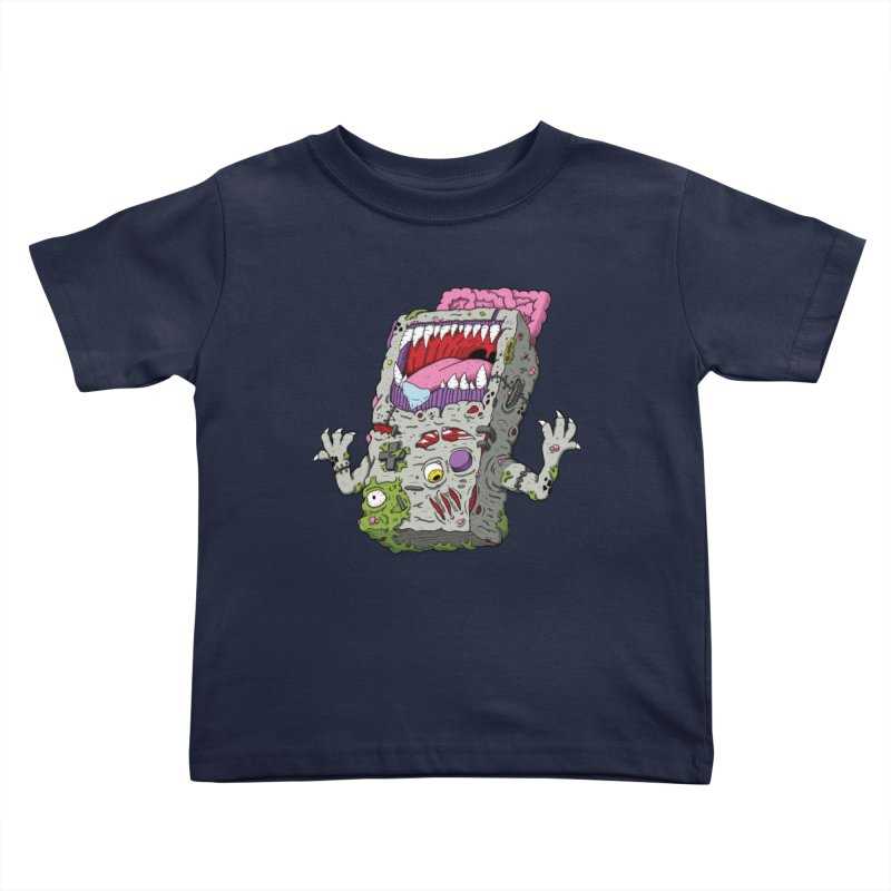 Controller Freak - Game Boy Kids Toddler T-Shirt by Mystic Soda Shoppe