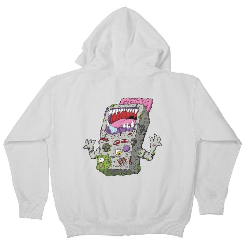 Controller Freak - Game Boy Kids Zip-Up Hoody by Mystic Soda Shoppe