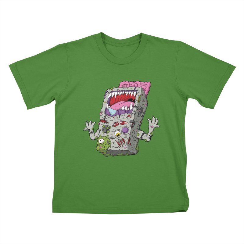 Controller Freak - Game Boy Kids T-shirt by Mystic Soda Shoppe