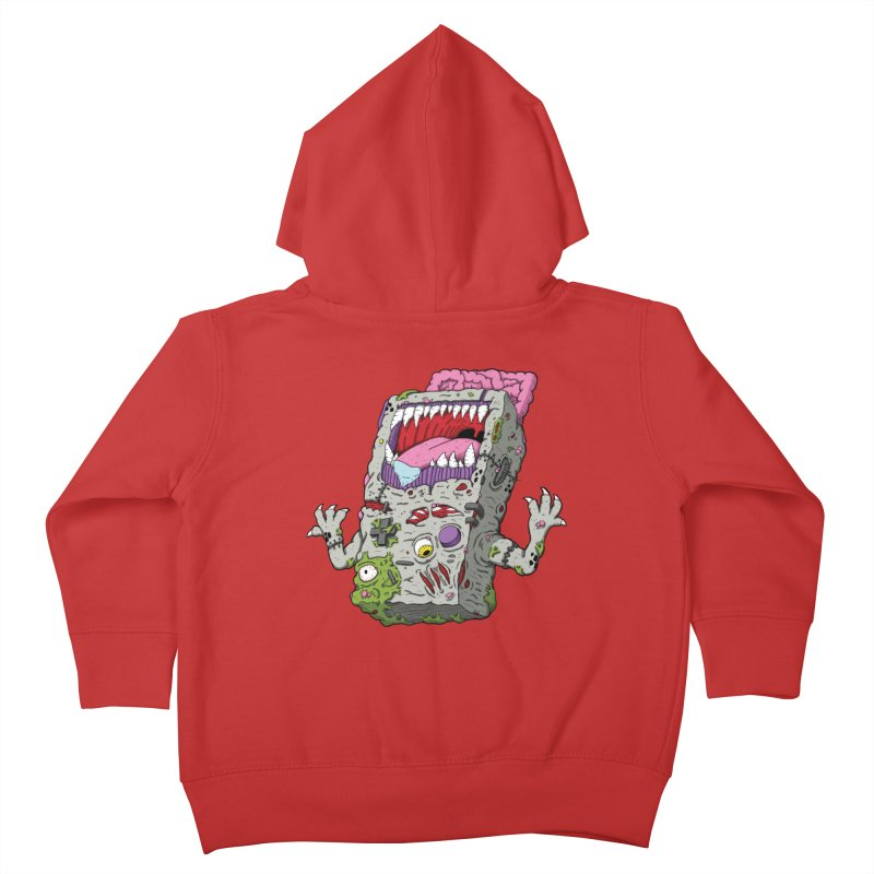 Controller Freak - Game Boy Kids Toddler Zip-Up Hoody by Mystic Soda Shoppe