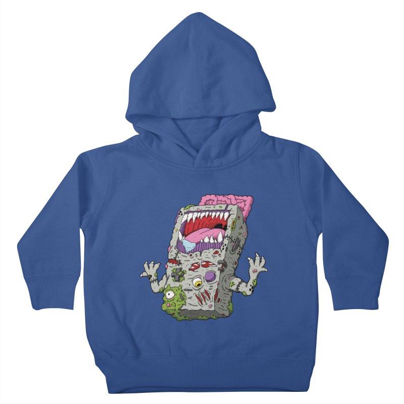 Controller Freak - Game Boy Kids Toddler Pullover Hoody by Mystic Soda Shoppe