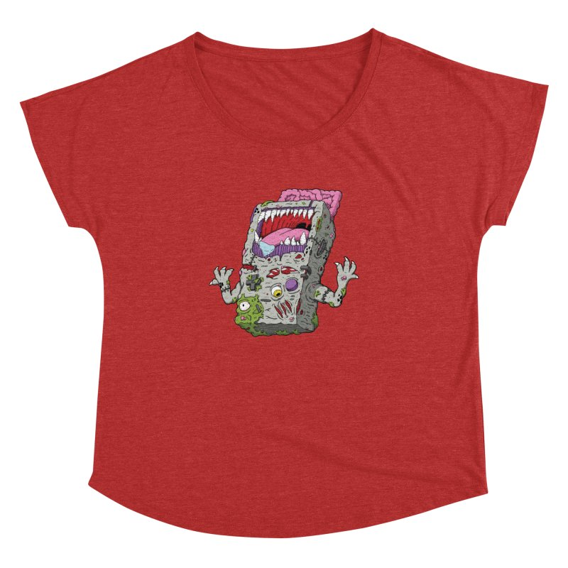 Controller Freak - Game Boy Women's Dolman by Mystic Soda Shoppe