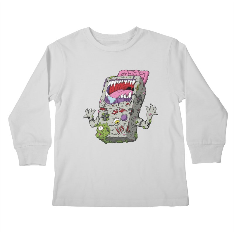 Controller Freak - Game Boy Kids Longsleeve T-Shirt by Mystic Soda Shoppe