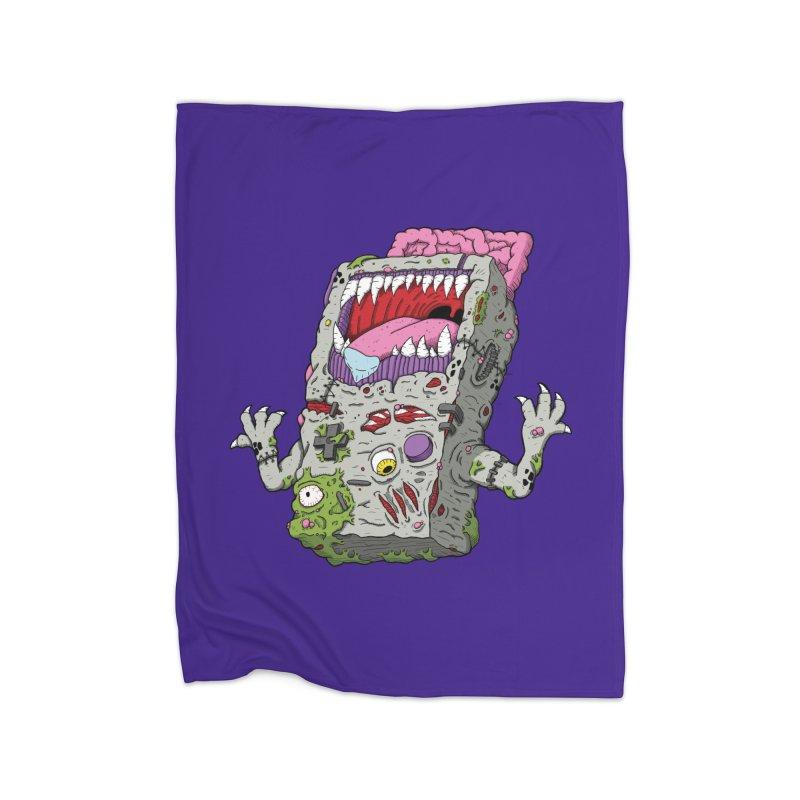 Controller Freak - Game Boy Home Blanket by Mystic Soda Shoppe
