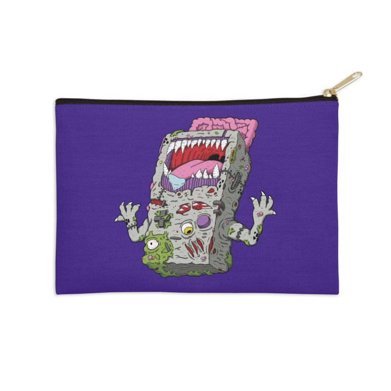 Controller Freak - Game Boy Accessories Zip Pouch by Mystic Soda Shoppe