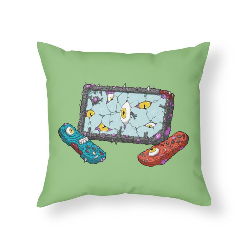 Controller Freak Gen 2 - The Sw1tch Home Throw Pillow by Mystic Soda