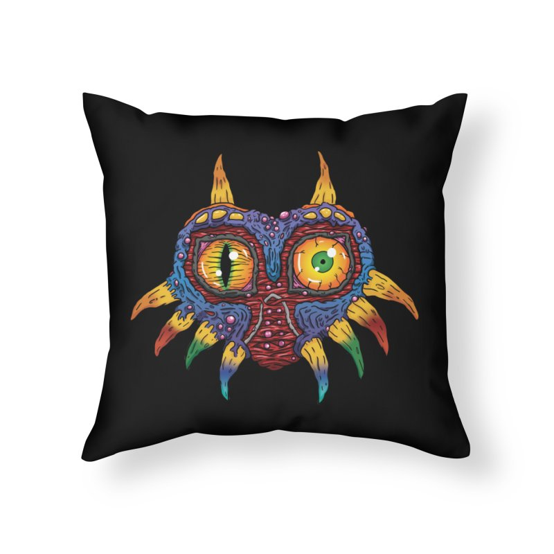 Terrible Fate Home Throw Pillow by Mystic Soda