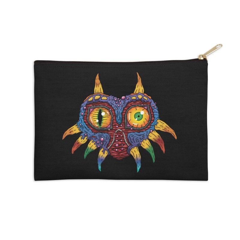 Terrible Fate Accessories Zip Pouch by Mystic Soda