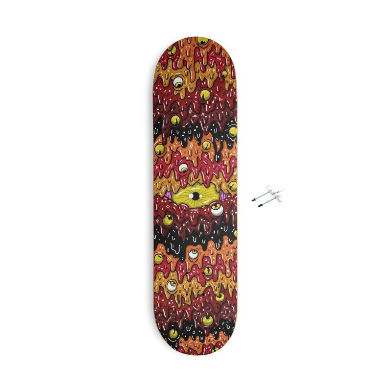 Melty Board Series - Fiery Accessories Skateboard by Mystic Soda