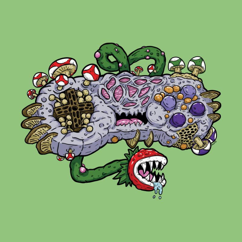 Controller Freak Gen 2 - The SNES Women's T-Shirt by Mystic Soda