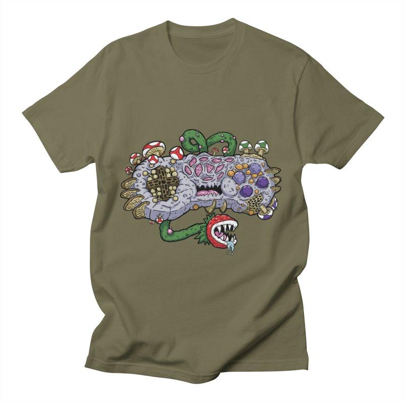 Controller Freak Gen 2 - The SNES Men's T-Shirt by Mystic Soda
