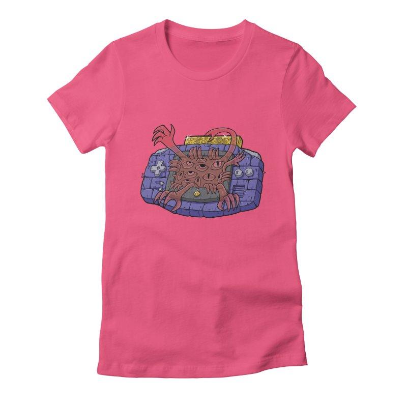 Controller Freak Gen 2 - The GBA Women's T-Shirt by Mystic Soda