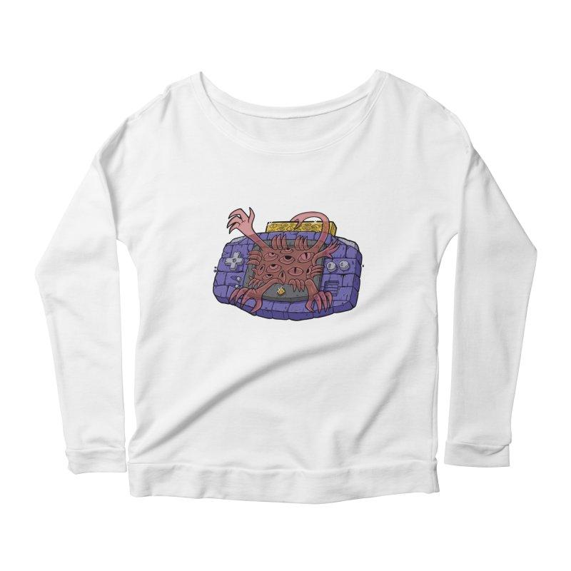 Controller Freak Gen 2 - The GBA Women's Longsleeve T-Shirt by Mystic Soda