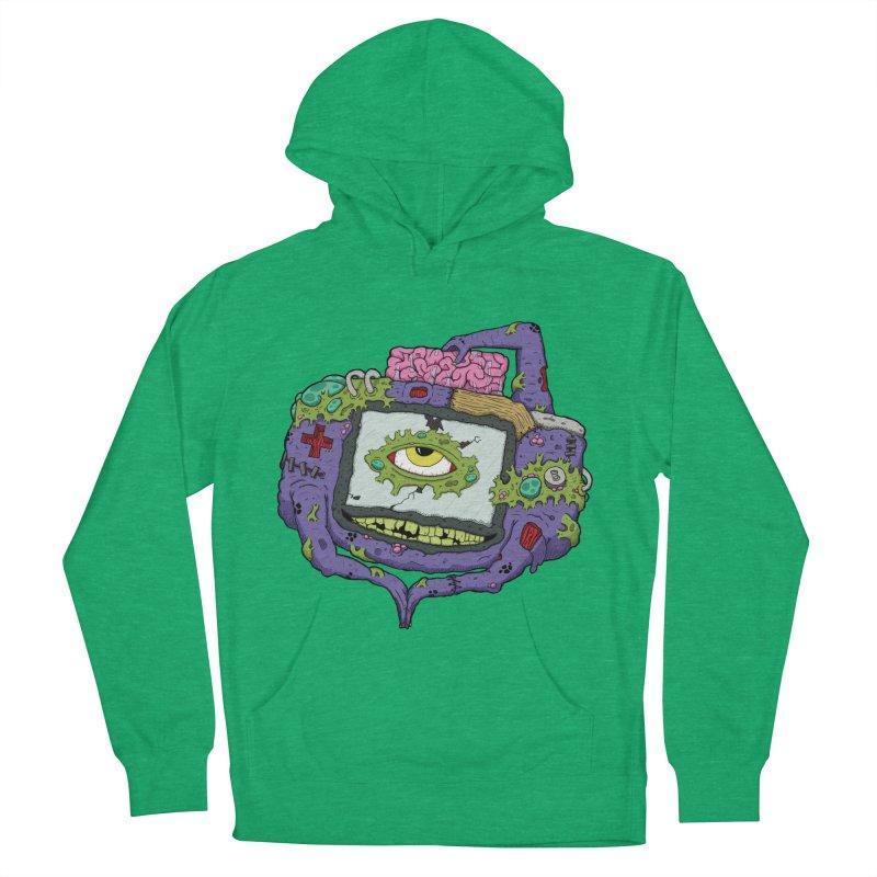Controller Freaks - GBA Women's Pullover Hoody by Mystic Soda Shoppe