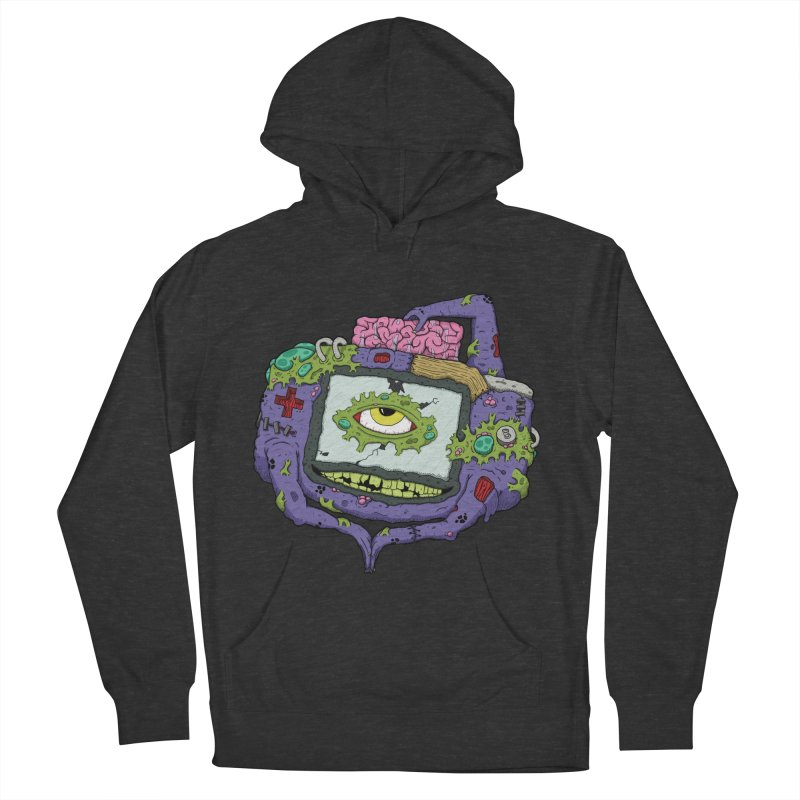 Controller Freaks - GBA Women's French Terry Pullover Hoody by Mystic Soda Shoppe