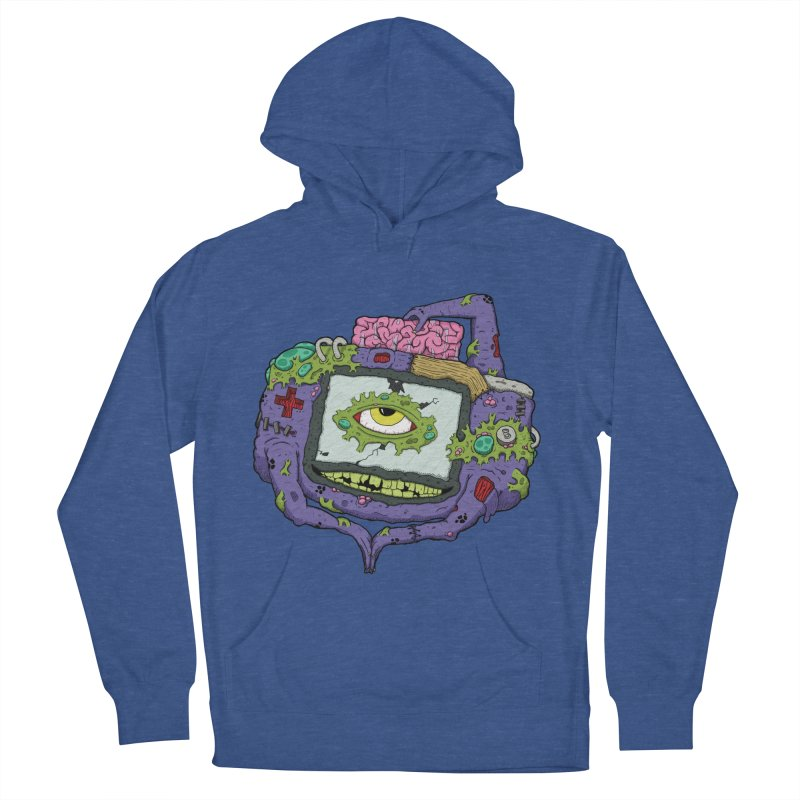 Controller Freaks - GBA Men's French Terry Pullover Hoody by Mystic Soda Shoppe