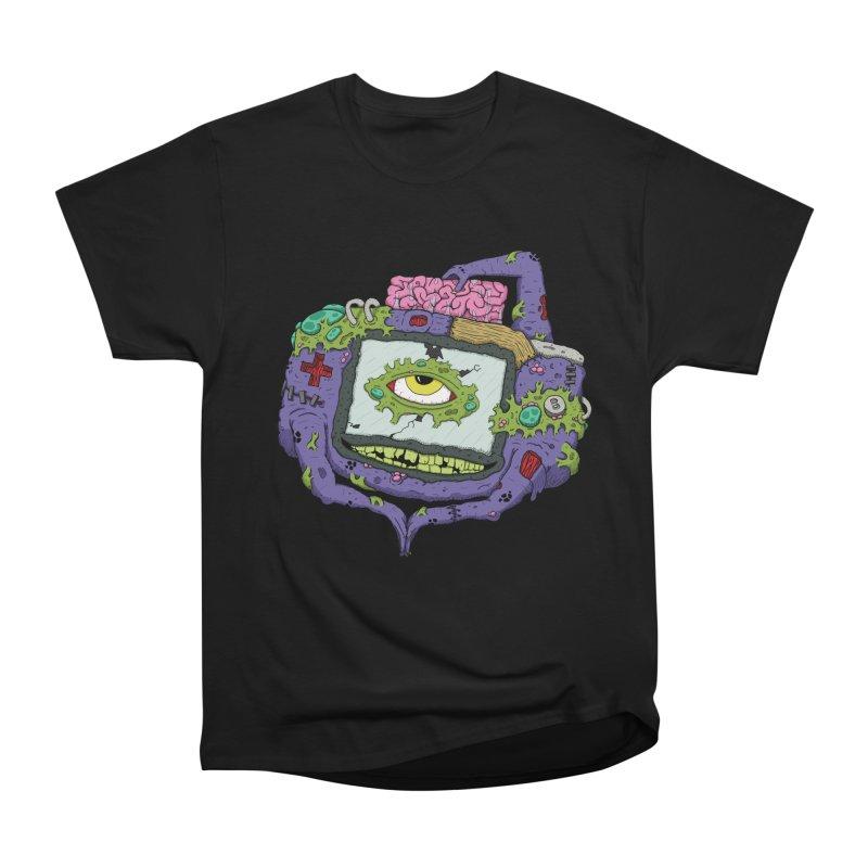 Controller Freaks - GBA Men's Heavyweight T-Shirt by Mystic Soda Shoppe