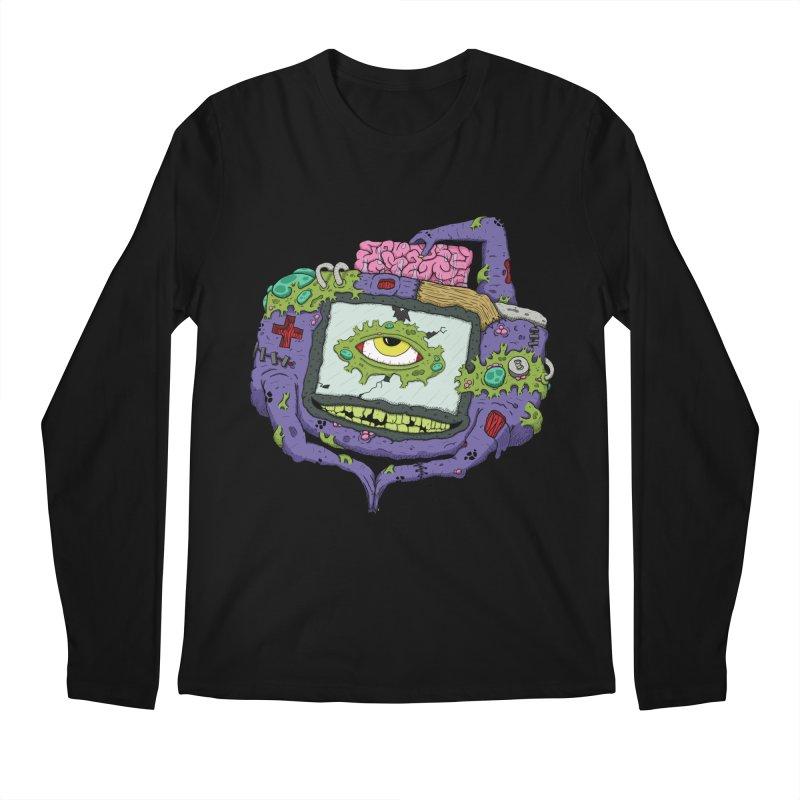 Controller Freaks - GBA Men's Regular Longsleeve T-Shirt by Mystic Soda Shoppe