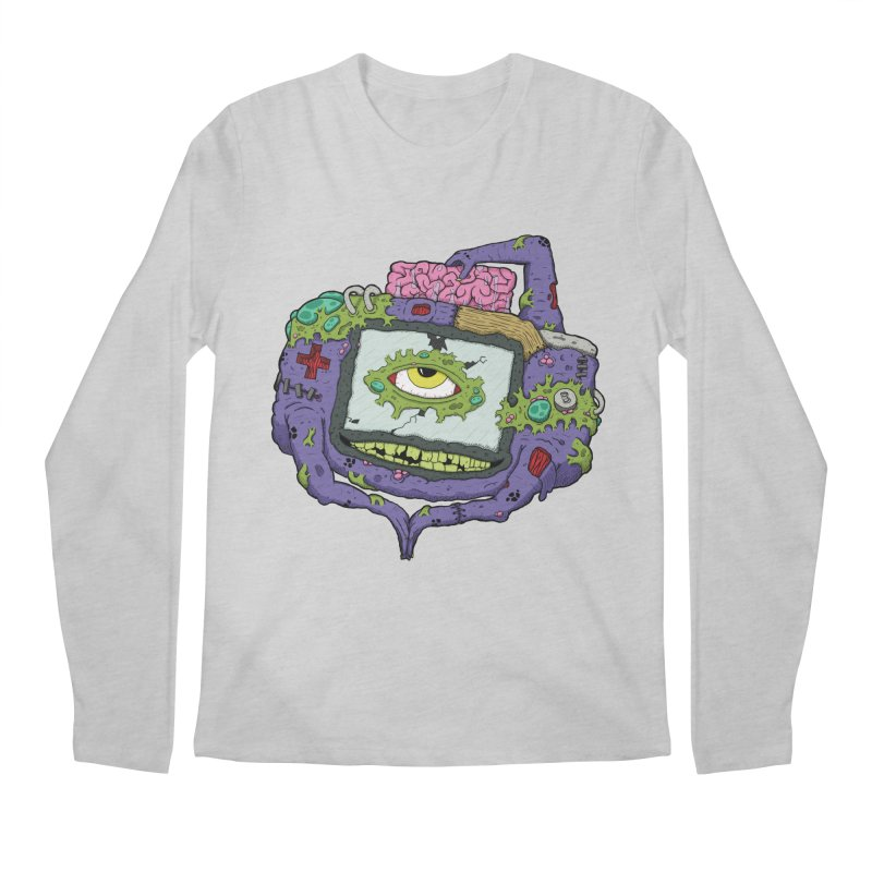 Controller Freaks - GBA Men's Longsleeve T-Shirt by Mystic Soda Shoppe