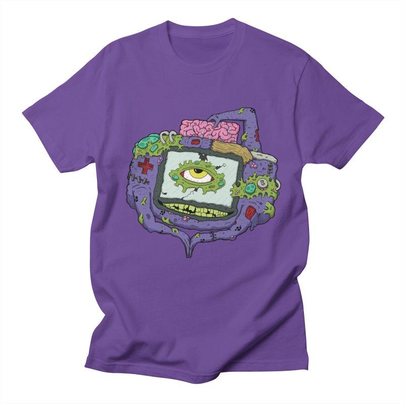 Controller Freaks - GBA Men's T-Shirt by Mystic Soda Shoppe