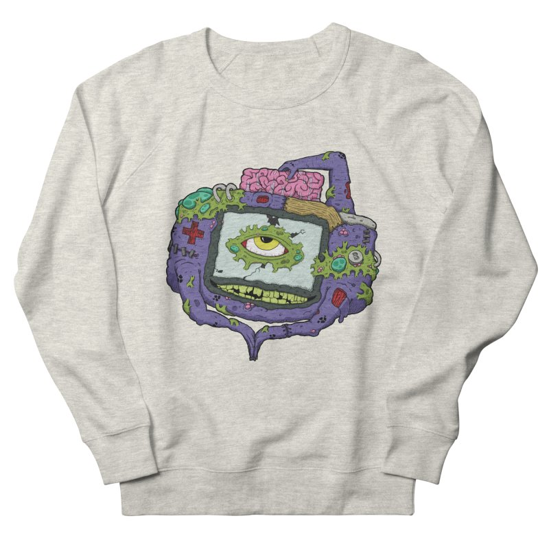 Controller Freaks - GBA in Women's French Terry Sweatshirt Heather Oatmeal by Mystic Soda Shoppe