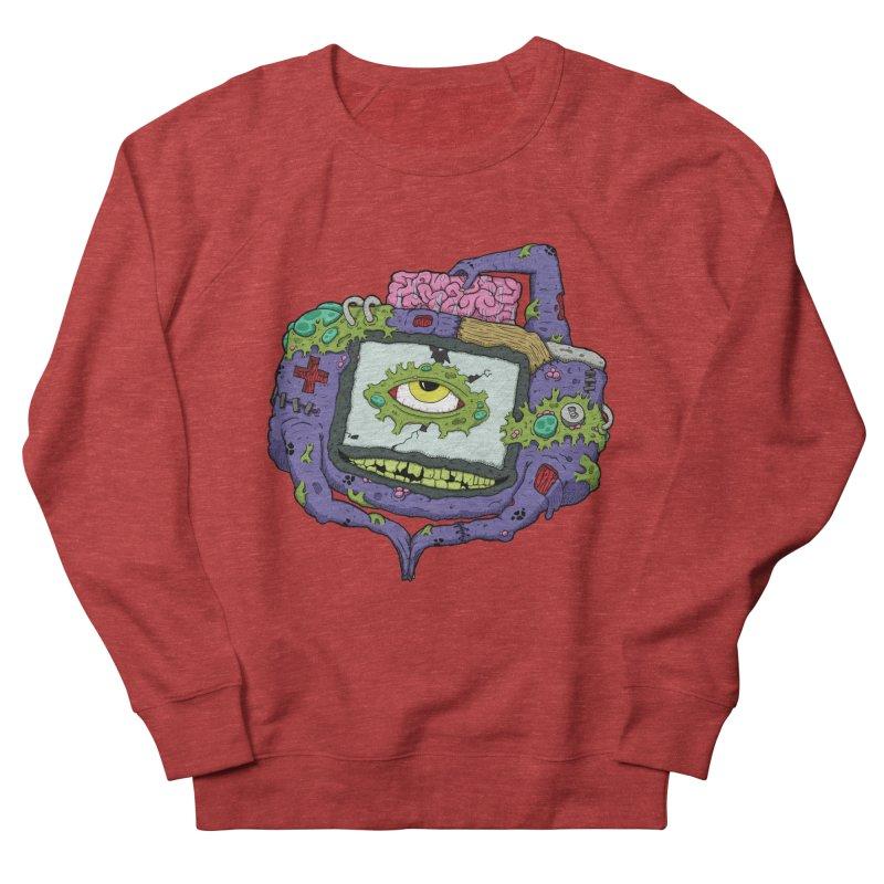 Controller Freaks - GBA Men's French Terry Sweatshirt by Mystic Soda Shoppe