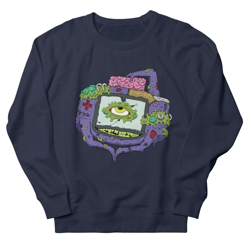 Controller Freaks - GBA Men's Sweatshirt by Mystic Soda Shoppe