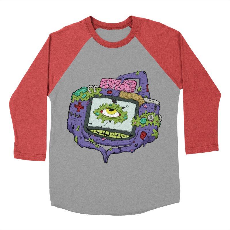 Controller Freaks - G4ME-B0Y-A Class Women's Baseball Triblend Longsleeve T-Shirt by Mystic Soda