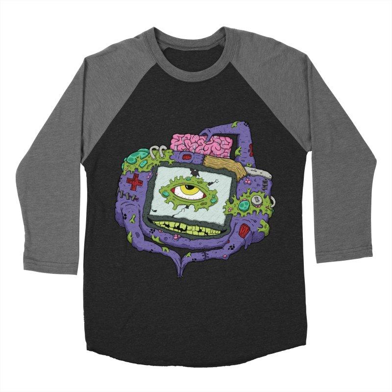 Controller Freaks - GBA Women's Baseball Triblend T-Shirt by Mystic Soda Shoppe