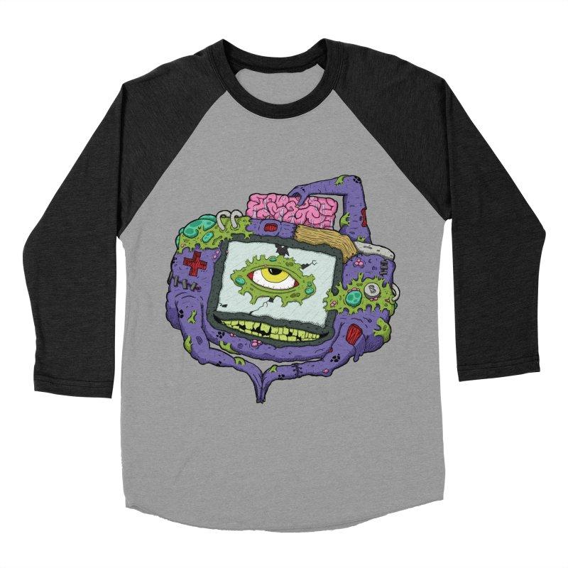 Controller Freaks - GBA Women's Baseball Triblend Longsleeve T-Shirt by Mystic Soda Shoppe