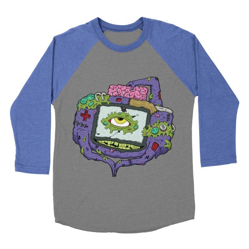 Controller Freaks - GBA Men's Baseball Triblend T-Shirt by Mystic Soda Shoppe